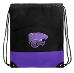 K-State Drawstring Backpack Bags Purple
