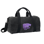 K-State Duffel RICH COTTON Washed Finish Black