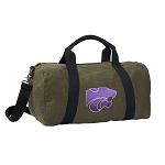 Kansas State Duffel RICH COTTON Washed Finish Khaki