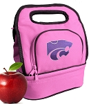 K-State Lunch Bag Pink