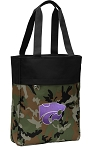Kansas State Tote Bag Everyday Carryall Camo