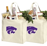 Kansas State Shopping Bags K-State Grocery Bags 2 PC SET