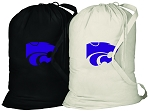 Kansas State Laundry Bags 2 Pc Set