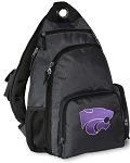 K-State Backpack Cross Body Style Gray