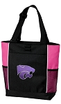 K-State Neon Pink Tote Bag