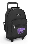 K-State Rolling Backpacks Black