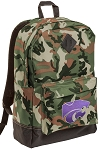 Kansas State Camo Backpack