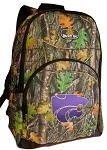 Kansas State Backpack REAL CAMO DESIGN