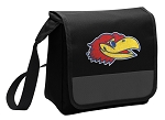 Kansas Jayhawks Lunch Bag Cooler Black