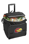 Kansas Jayhawks Rolling Cooler Bag