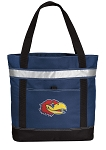 University of Kansas Insulated Tote Bag Navy