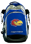 Kansas Harrow Field Hockey Backpack Bag Royal