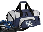SMALL University of Kentucky Gym Bag UK Wildcats Duffle Navy