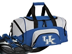 SMALL University of Kentucky Gym Bag Kentucky Wildcats Duffle Blue