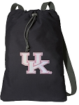 Pink UK Wildcats Logo Cotton Drawstring Bag Backpacks