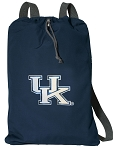 University of Kentucky Cotton Drawstring Bag Backpacks Cool Navy