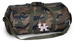 Ladies UK Wildcats Camo Duffel Bags