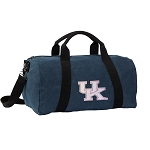 University of Kentucky Duffel RICH COTTON Washed Finish Blue