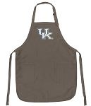 Official Kentucky Wildcats Logo Apron Tan