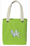 Kentucky Wildcats Tote Bag RICH COTTON CANVAS Green