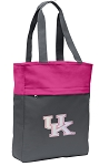 Ladies Kentucky Wildcats Tote Bag Everyday Carryall Pink