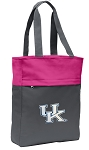 Kentucky Wildcats Tote Bag Everyday Carryall Pink