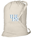 Kentucky Wildcats Laundry Bag Natural
