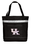 Pink UK Wildcats Logo Insulated Tote Bag Black