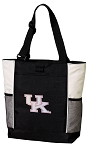 Pink UK Wildcats Logo Tote Bag W