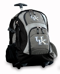 University of Kentucky Rolling Backpack Black Gray