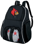 Louisville Cardinals Ball Backpack Bag