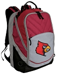 UofL Deluxe Laptop Backpack Red