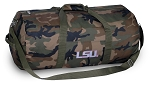 Ladies LSU Camo Duffel Bags