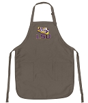 Official LSU Logo Apron Tan