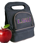 LSU Tigers Lunch Bag Black