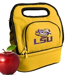 LSU Lunch Bag Gold