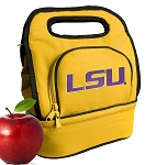 LSU Tigers Lunch Bag Gold