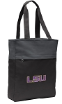 LSU Tigers Tote Bag Everyday Carryall Black