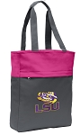 LSU Tote Bag Everyday Carryall Pink