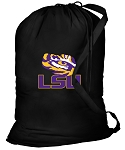 LSU Laundry Bag Black