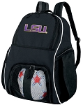 LSU Tigers Ball Backpack Bag