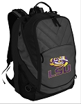 LSU Deluxe Laptop Backpack Black