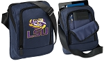 LSU Tablet or Ipad Shoulder Bag Navy