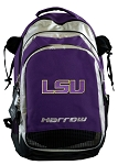 LSU Harrow Field Hockey Lacrosse Backpack Bag Purple