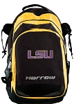 LSU Harrow Field Hockey Lacrosse Backpack Bag Yellow
