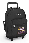LSU Rolling Backpacks Black