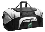 Michigan State University Duffel Bags or Michigan State Gym Bags For Men or Women