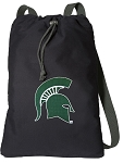 Michigan State Cotton Drawstring Bag Backpacks