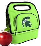 Michigan State Lunch Bag Green