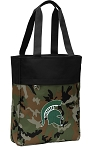 Michigan State Tote Bag Everyday Carryall Camo